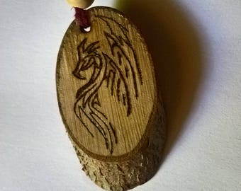 Necklace with tribal Dragon