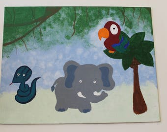 Jungle Friends Painting