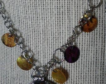 Alice in Wonderland Colorful Necklace