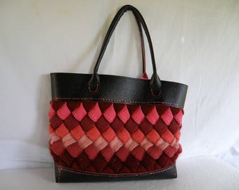 Handmade fully lined large tote