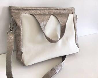 """Handbag - Briefcase """"Foxtrot"""" / / for her / teacher / teacher"""