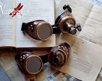 Goggles steampunk burning man cosplay