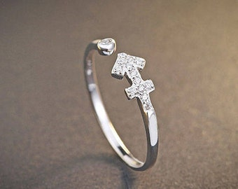925 Sterling Silver Sagittarius Ring