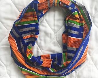 Ankara Three-Piece African Infinity Scarf