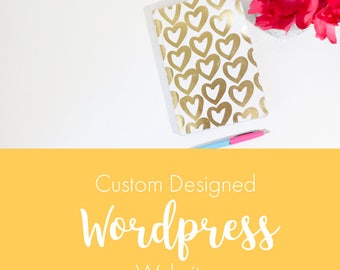 Custom Wordpress Website Design and Setup