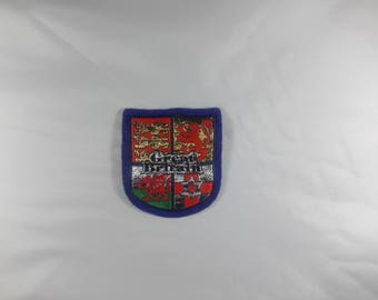 embroidered sew representing the Great Britain