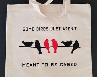Some Birds... canvas tote bag