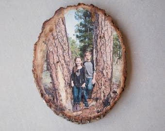 Personalized Wooden Portrait Wall Hanging