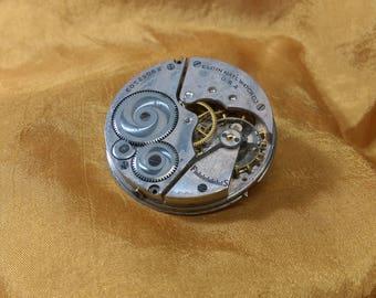 Large Steampunk Watch Pin (A)
