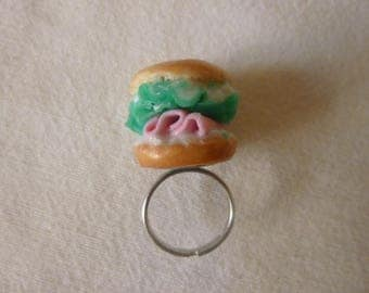 Ring adjustable bagel