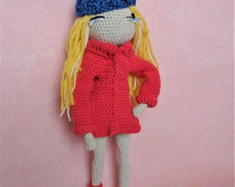 Unique Handmade Crochet Doll Soft Toy for Collectors/ Special Gift for Kids