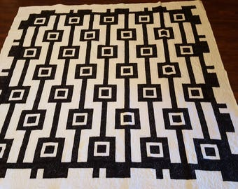 Large queen size quilt