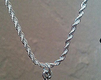 ZEN necklace in 925 Silver with a pendant