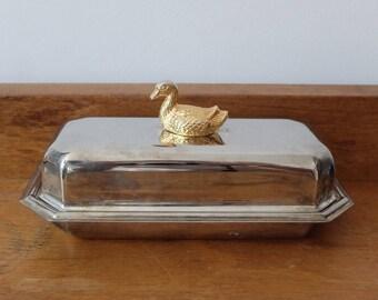 Dish(flat) to foie gras, silver metal