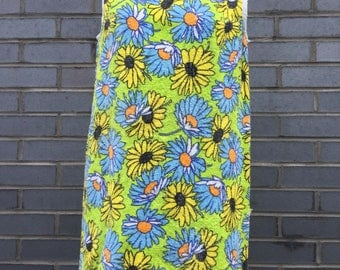 Vintage Daisy toweling dress