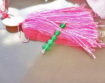 10 aventurine beads green transparent 6 mm x 10, round bead 6 mm Green aventurine stone