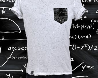 "POCKET TEE ""SPECKLED"" math"