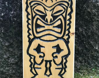 Tiki Sign for the tiki bar, backyard bar summer fun