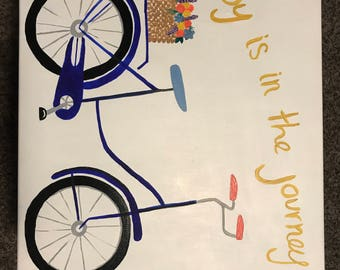 16 X 20 bicycle painting