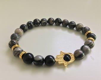 Hasma Gold Style Bracelet