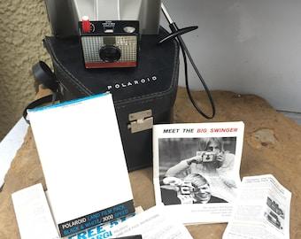 Vintage Polaroid Land Camera Big Swinger 3000