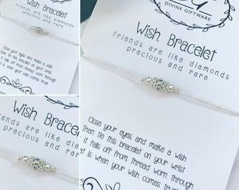 Friendship Wish Bracelet Gift Jewellery