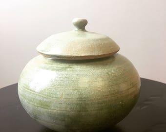 Small Ceramic Lidded Jar