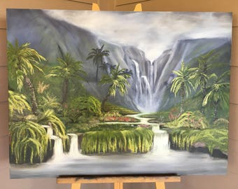 Paradise Oil Painting