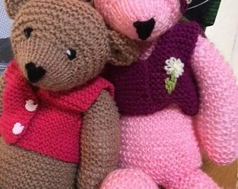 BUY NOW Bear Hugs. Greetings Card. Blank Inside