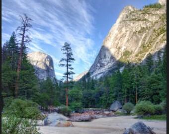 11x17 poster Half Dome Yosemite