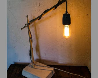 Scandinavian inspired lamp