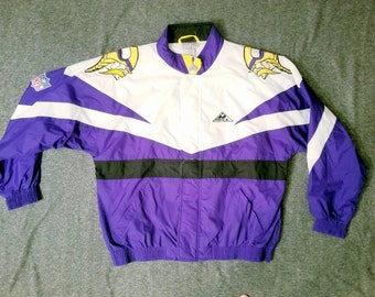 Minnesota vikings Vintage Windbreaker XL