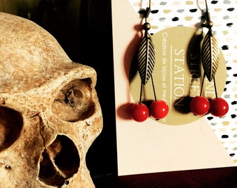 CHERRY BOMB collection earrings