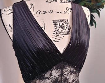 Women's Vintage Papell Boutique Evening Gown