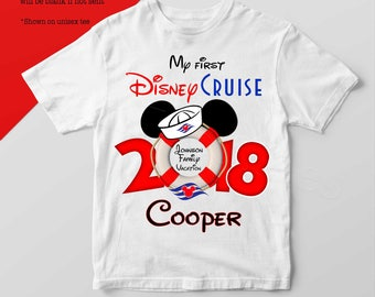 My First Disney Cruise Personalized Shirt - Mickey Mouse Disney Cruise Shirt