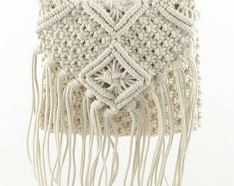 Fringe Tassel Hand-woven Purse