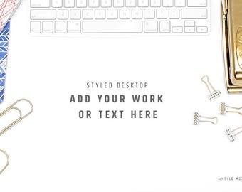 Styled Stock Photography - Desktop Styled Stock Photography - Stock Images - Office Styled Mockup