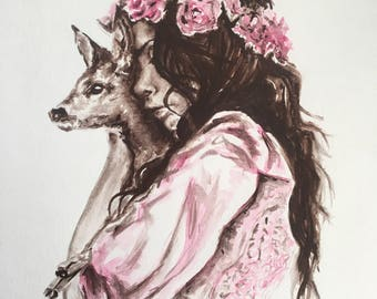 Unframed Original Watercolor