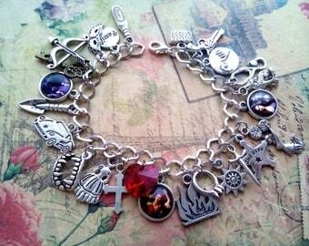 The Vampire diaries bracelet, Elena Gilbert jewelry, Damon Salvatore jewelry, Stefan Salvatore jewelry