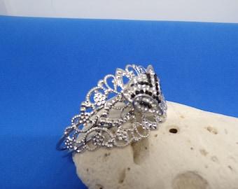 Cuff Bracelet with Fox head snap
