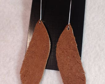 Genuine Leather Earrings - Leather Earrings