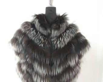 Fur Vest, Fur Jacket, Arizante Fox Fur Jacket