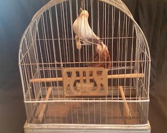 Vintage Hendryx Birdcage Art Deco
