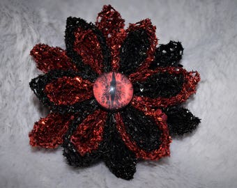 Dragon Kanzashi Flower