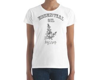 Essential Oil Hyssop Women's short sleeve t-shirt