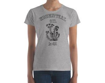 Essential Oil Lentil Women's short sleeve t-shirt