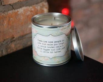 Friend friendship scented candle