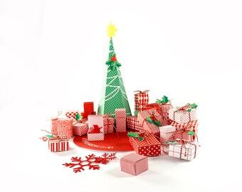 advent calendar pattern, DIY, advent calendar, downloadable