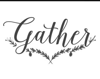 Gather wall cling