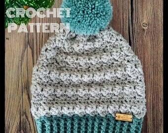 Crochet Beanie Pattern, Crochet Hat Pattern, Beanie Pattern, Hat Pattern, Crochet Pattern, Toque Pattern